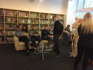 IB DP1 students had an excursion at Tallinn University Academic Library_2017_1