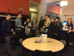 IB DP1 students had an excursion at Tallinn University Academic Library_2017_2